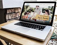 Design and development of website in Wordpress CMS