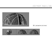 Pneumatic/vacuum pavilion