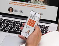 Web Site + Identidade Visual [Coaching Financeiro]