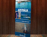 Banner com os principais destinos da 2be Study