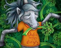 Los unicornios aman el apio