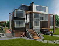 Render casa modelo