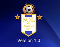 App Móvil Sol de América FC