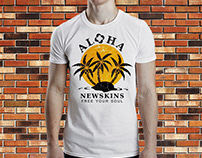 Newskins - T-shirt Design