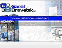 Sitio Garal Bravetek desarrollado en PHP - Panamá