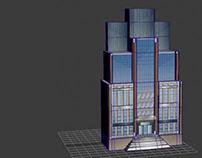 Capturas 3D Max/ Escenario Reforma- Centro Historico