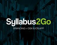 Syllabus 2Go - Branding + OSX & IOS App