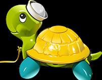Tortuga bebe