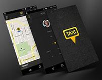 """Desarrollo de App para aliado """"Taxi Driver"""""""