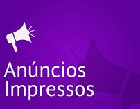Design: Anúncios Impressos