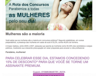 E-mail Marketing - RConcursos