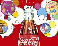 Valla publicitaria Coca Cola