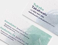 Yukiko Takahashi / Business Card
