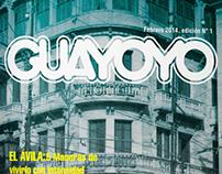 Guayoyo Magazine College Project