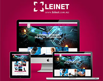 Diseño web LEINET
