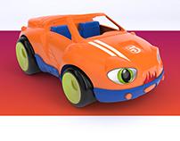 Toys design 3D modeling