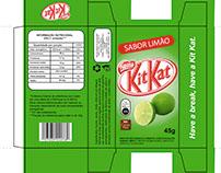 Projeto Embalagem KitKat Limão