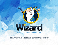 Wizard Painting