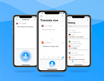 Translate Now | iOS APP Mobile