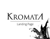 Kromata Landing Page