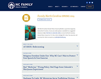 NC Family - WordPress Site