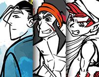 Kriy, Goto & Lia | Character Design