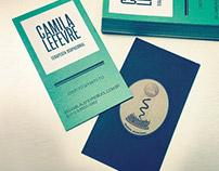 Cartão de Visita - Camila Lefevre