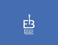 Logotipo cantor sertanejo Eider Batista.