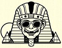 Neon sphinx