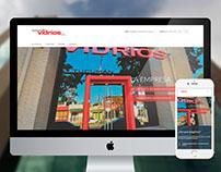 Sitio web autogestionable. Tucumán Vidrios 2017.