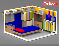 My Room 3D ISOmetric