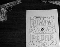 Lettering - Plata o Plomo