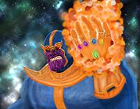 Thanos Digital Art