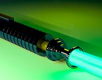 Lightsaber (3D modeling)