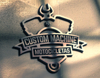 Logo Design & Branding-Custom Machine Motocicletas