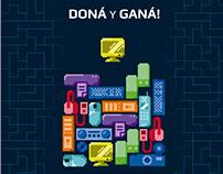 """""""Doná y ganá"""" - Proyecto e-basura."""