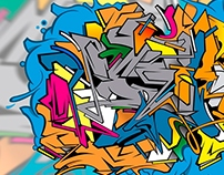 Fire Vector Wild Style