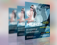Party poster Summer Night