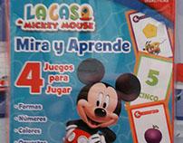Diseño- Cartas didácticas La Casa de Mickey Mouse