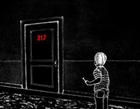 El Resplandor   ilustraciones (Capítulo 25)