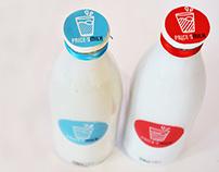 Price's Milk - Rebrand.