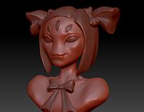 Muffet - 3D Sculpting