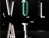 Desplegable Tipográfico - Diseño I Gabriele
