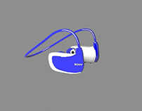 MODELADO 3D MP3 SONY