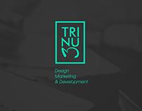 """""""TRINUM"""" Diseño de logo e imagen Web / Image & Web"""