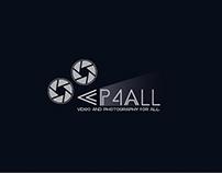 VP4ALL: diseño de logo para una empresa de vídeo y foto