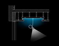 Diseño luminarias, grafica