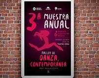 3a Muestra Anual - Taller de Danza Contemporánea