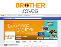 Brother Travels / Campaña en redes sociales