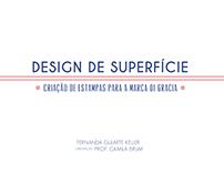 Projeto de Graduação: Design de Superfície